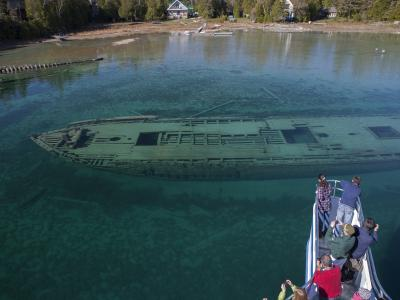 Shipwreck Sweepstakes Tobermory